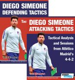 Diego Simeone Defending and Attacking Tactics Set - Tactical Analysis and Sessions from Atlético Madrid's 4-4-2