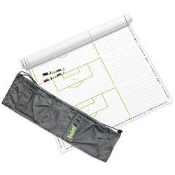 Taktifol - 25 Reusable Roll-Up SET-PLAY Football Coaching Sheets