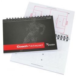 Football Coaches Session Planner A6 Pocket Size Notepad - 150 pages