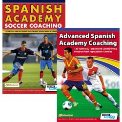 Spanish Academy Soccer Coaching + Advanced Spanish Academy Coaching - Bundle with 240 Practices