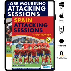 Jose Mourinho Attacking Sessions + Spain Attacking Sessions - Bundle with over 250 Practices - eBook Only