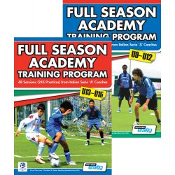 Full Season Academy Training U9-15 Book Set