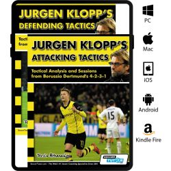 Jurgen Klopp's Attacking and Defending Tactics Book Set - Tactical Analysis and Sessions (4-2-3-1)