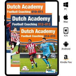 Dutch Academy Football Coaching U10-15 - 3 Book Bundle - eBook Only