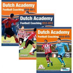 Dutch Academy Football Coaching U10-15 - 3 Book Bundle