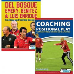 Coaching Positional Play + Del Bosque, Emery, Benitez & Luis Enrique - Practices and Training Sessions - Bundle with 97 Practices