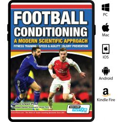 Football Conditioning: A Modern Scientific Approach eBook - Fitness Training | Speed & Agility | Injury Prevention
