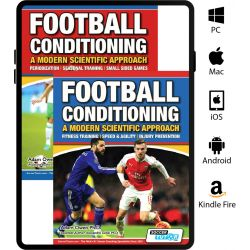 Football Conditioning: A Modern Scientific Approach 2 eBook Set - Speed & Agility | Injury Prevention | Periodization Training | Small Sided Games
