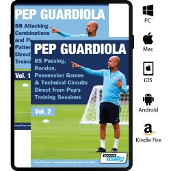 Pep Guardiola Volume 1 & 2 Bundle - 173 Practices Direct from Pep's Training Sessions eBook Only