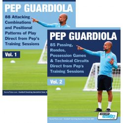 Pep Guardiola Volume 1 & 2 Bundle - 173 Practices Direct from Pep's Training Sessions