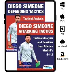 Diego Simeone Defending and Attacking Tactics Set - Tactical Analysis and Sessions from Atlético Madrid's 4-4-2 - eBook Only