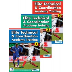 Elite Technical & Coordination Academy Training (3 Video Set) - 292 Exercises