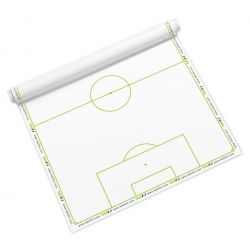 Taktifol - 25 Reusable Roll-Up FULL PITCH Football Coaching Sheets