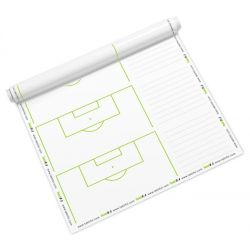 Taktifol - 25 Reusable Roll-Up SET-PLAY Football Coaching Sheets