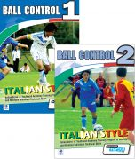 Ball Control 2 - Vol. 1 and 2 DVD Set - Italian Style Academy Technical Skills Training Program