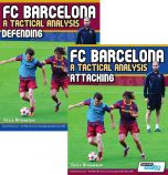 FC Barcelona: A Tactical Analysis - Attacking and Defending Book Set Combo