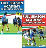 Full Season Academy Training U9-15 Book Set