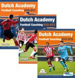 Dutch Academy Football Coaching U10-15 - 3 Book Bundle